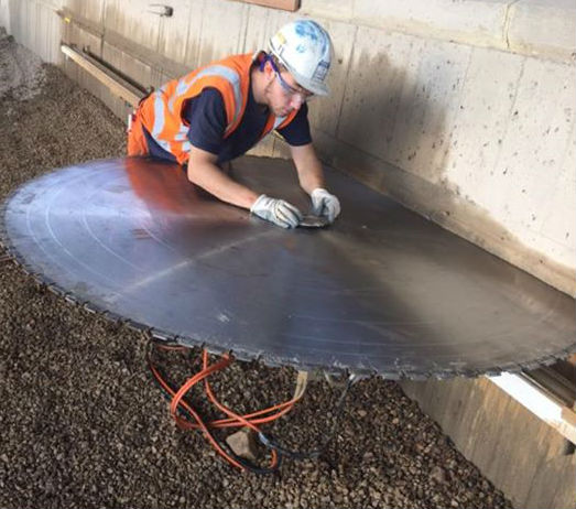 The Expert S Tips To Concrete Cutting Using Diamond Blades