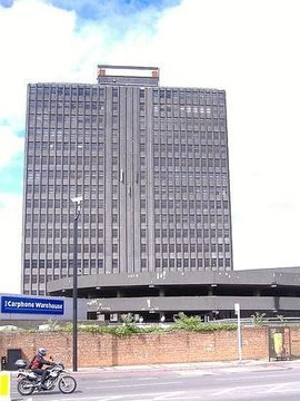 CA Drillers Renovate the Ugliest Building in London