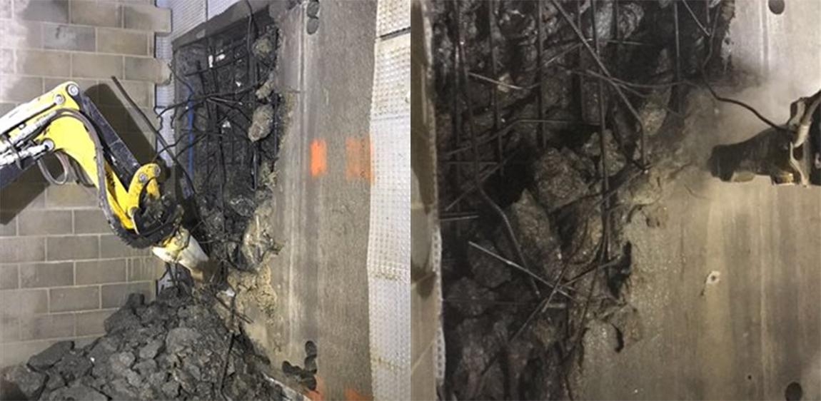 demolition work