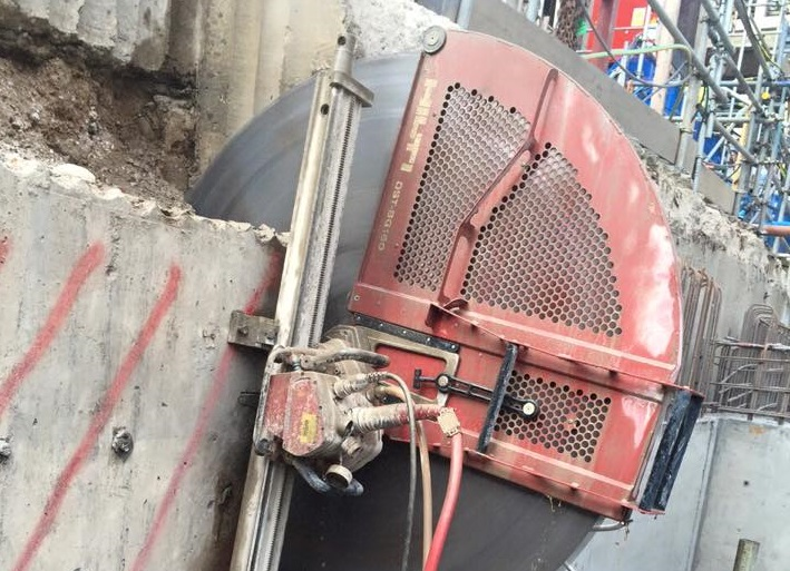Wall Mount Concrete Saw : The most important do s and don ts of concrete wall sawing