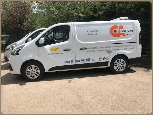 CA Drillers new vans